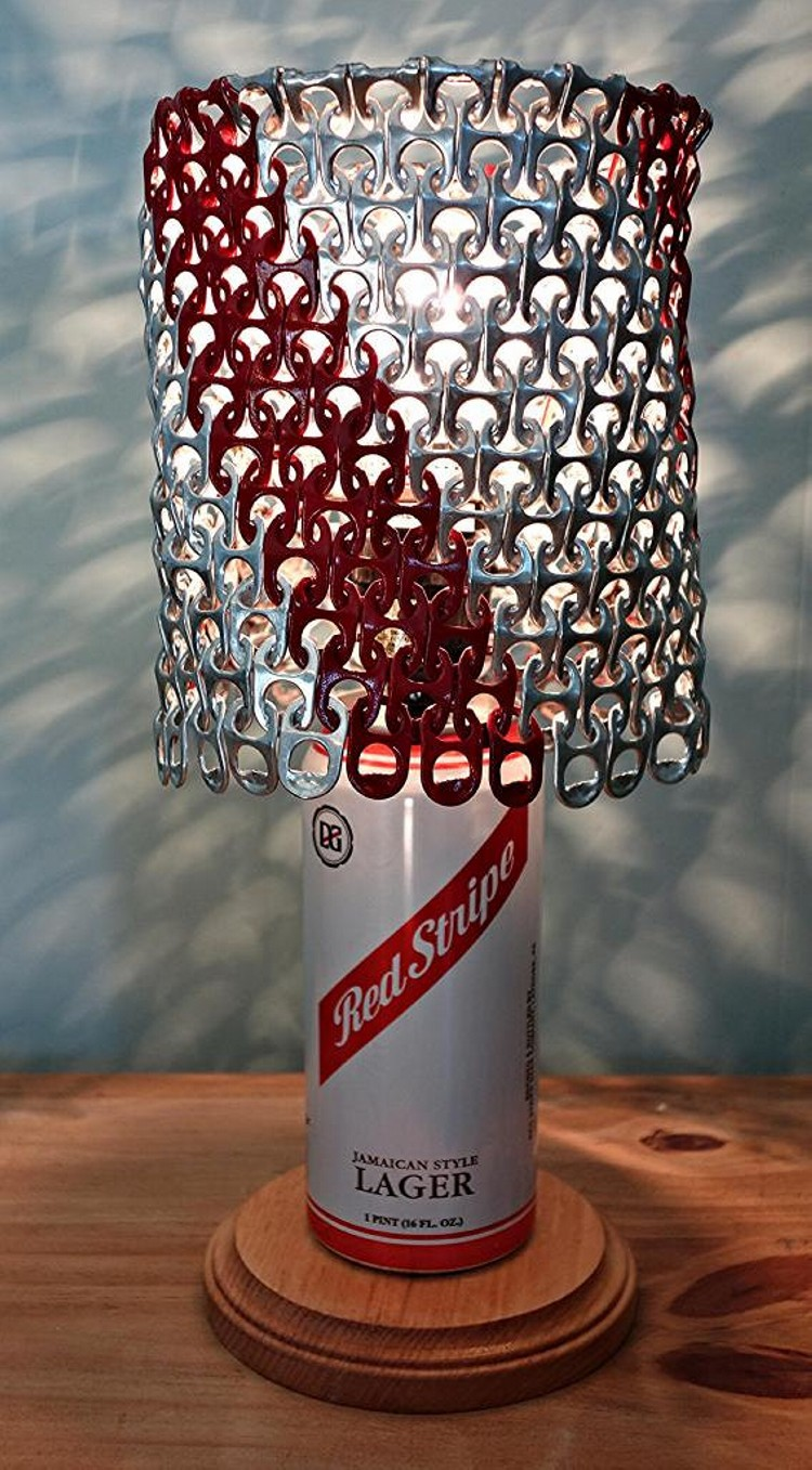 Beer Can Tab Lamp