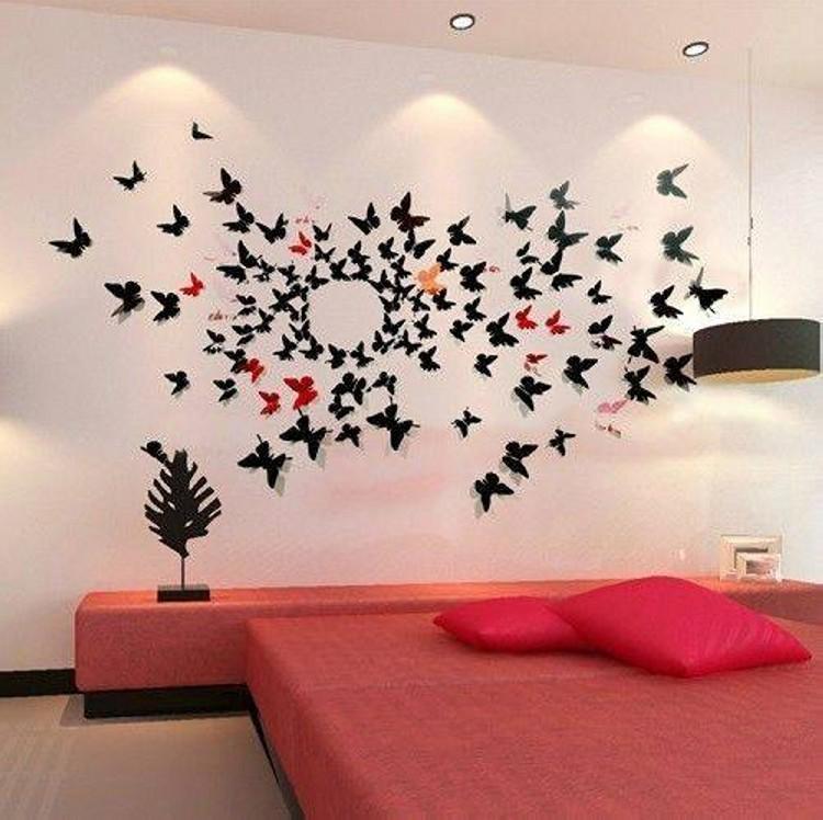 Butterflies Bedroom Art