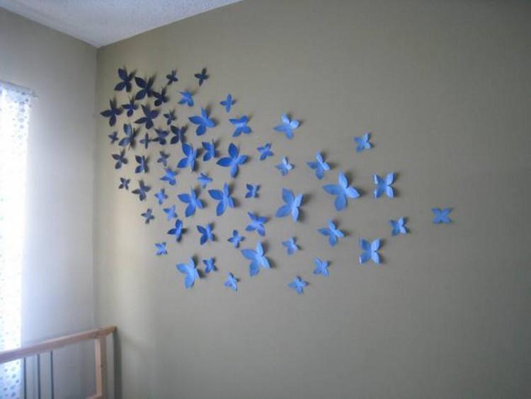 Butterflies Wall Decor Art