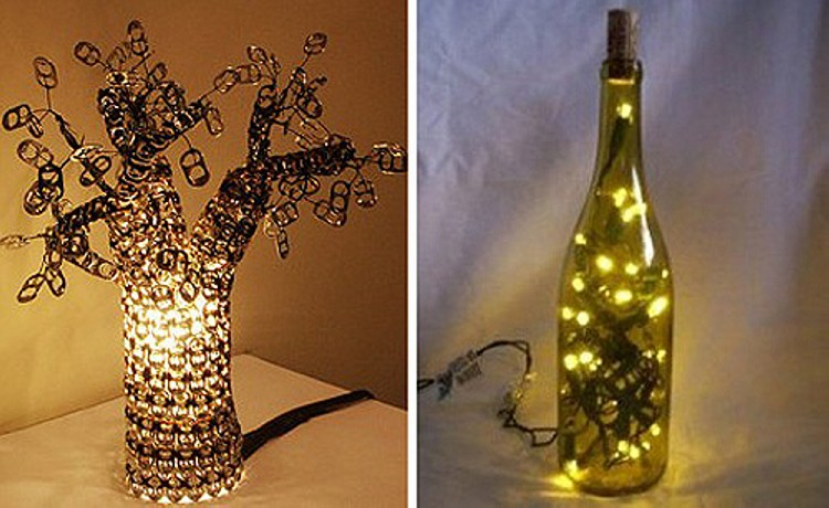 Can Tabs Cute Lamp