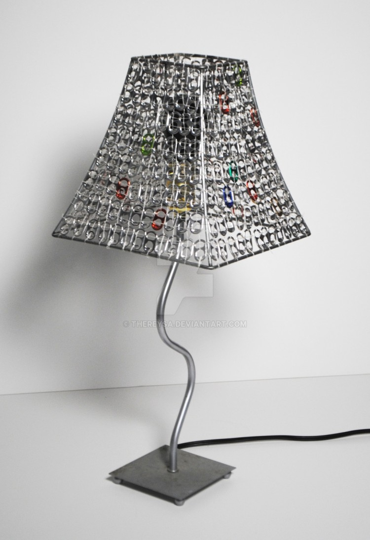 Can Tabs Lamp Ideas
