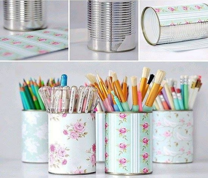 Cans Pencil Boxes