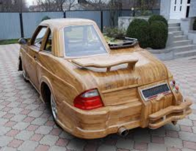 Car out of Wood