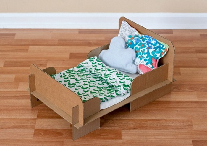 Cardboard Bed Crafts