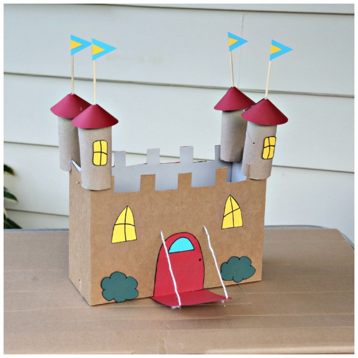 Cardboard Crafts Recycled