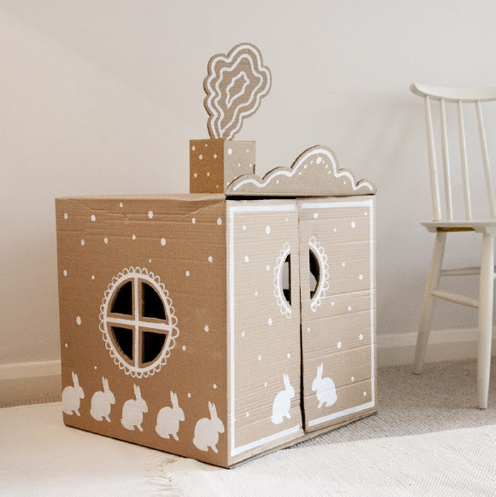 Cardboard PlayhouseCrafts