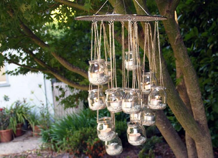 DIY Mason Hanging Crafts