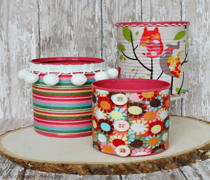 Decor Crafts with Cans