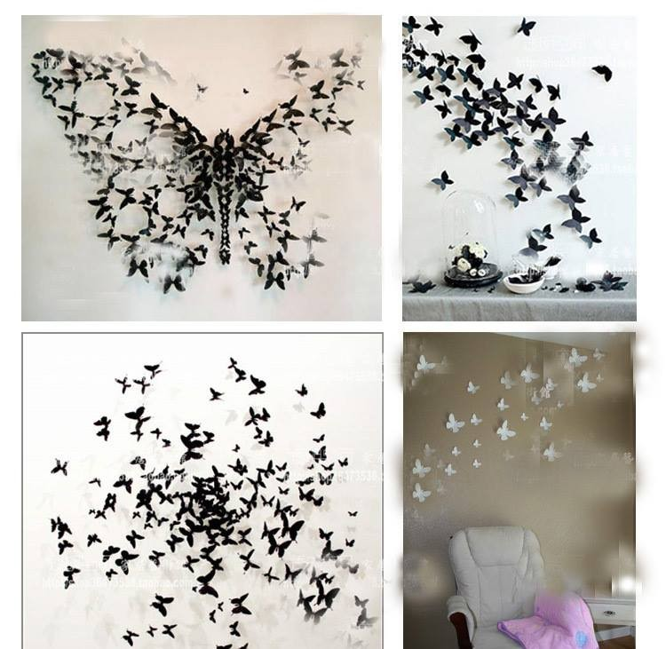 home decor with butterflies art upcycle art. Black Bedroom Furniture Sets. Home Design Ideas