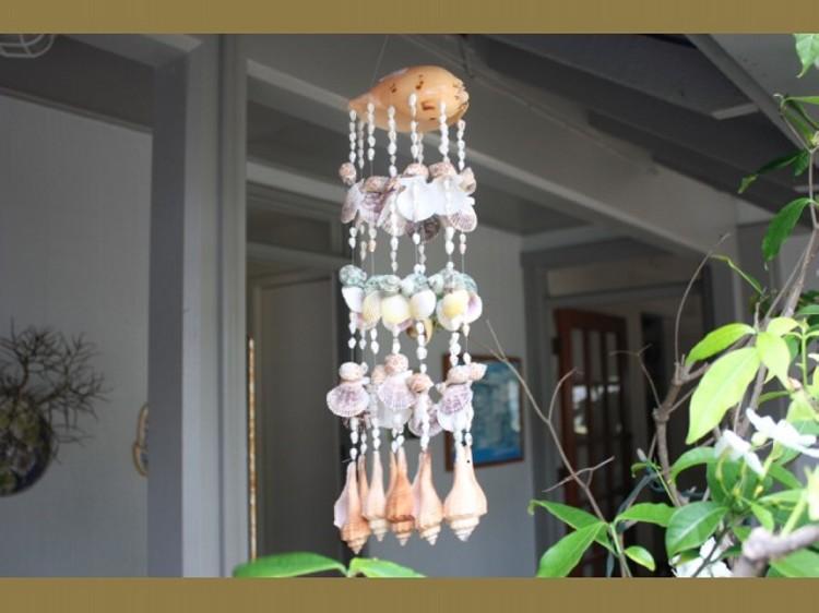Hanging Seashells Idea