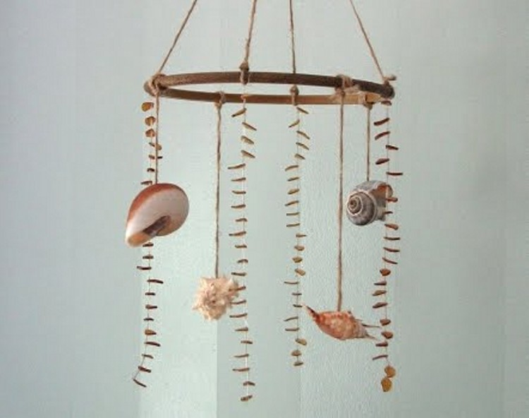 Hanging Seashells Ideas