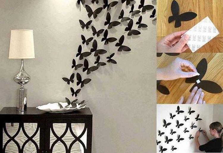 Home Decor Butterflies Art