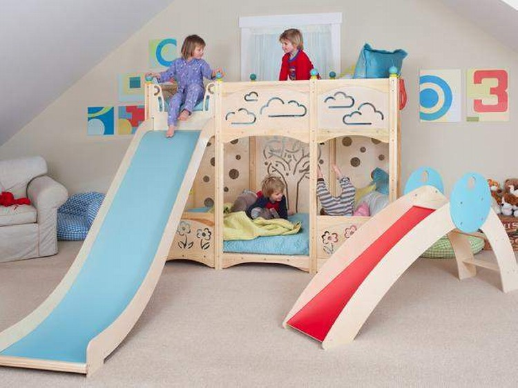 Kid Bunk Bed