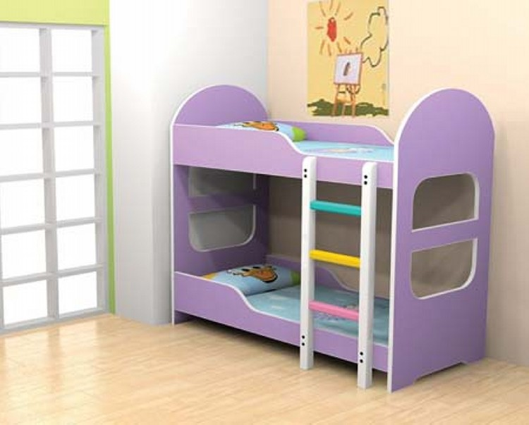 Little Bunk Bed for Kids