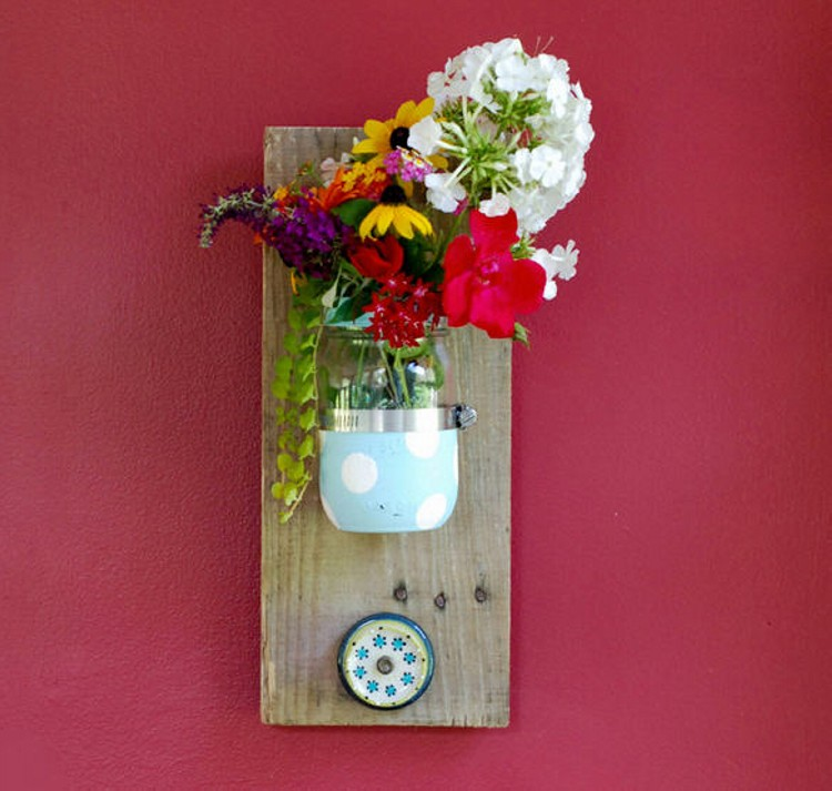 Mason Jars Crafting Ideas