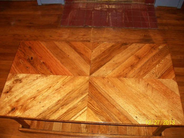 Pallets Coffee Table