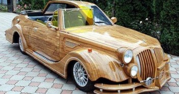 Pallets Upcycled Car