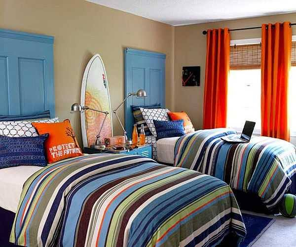 Recycle Old Doors to Bed Headboards