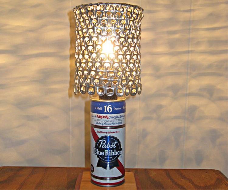 Ribbon Can Lamp