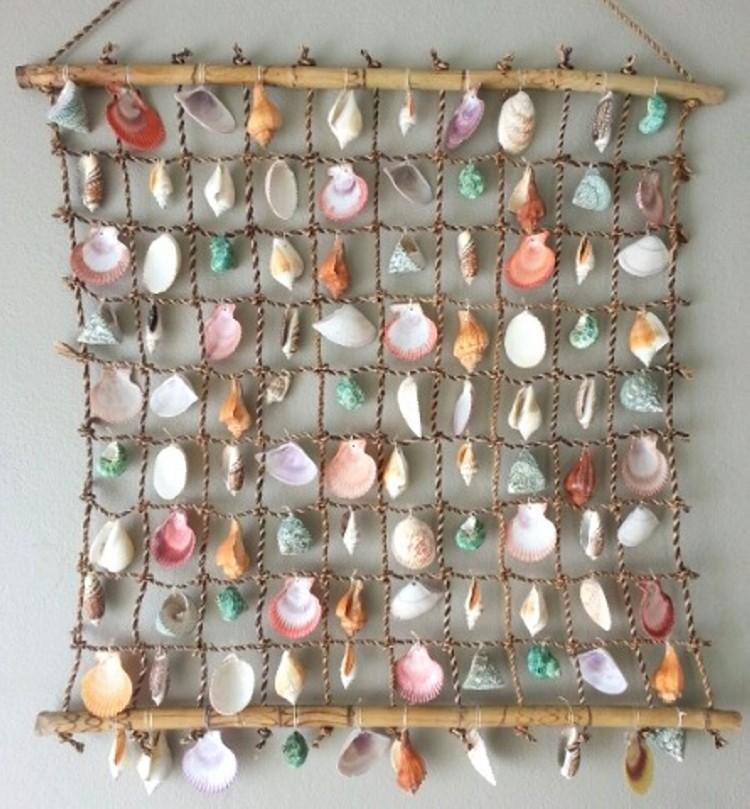Sea Shell Hanging Creations