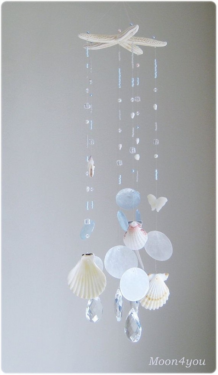 Seashell Hanging Art Work