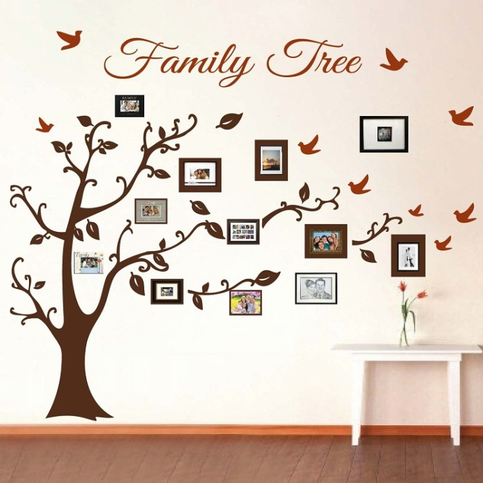 Tree Wall Art Family Photos