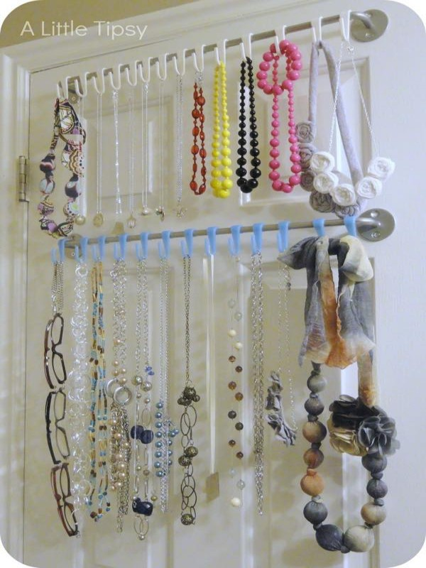 Up Cycled Jewelry Hanger Designs