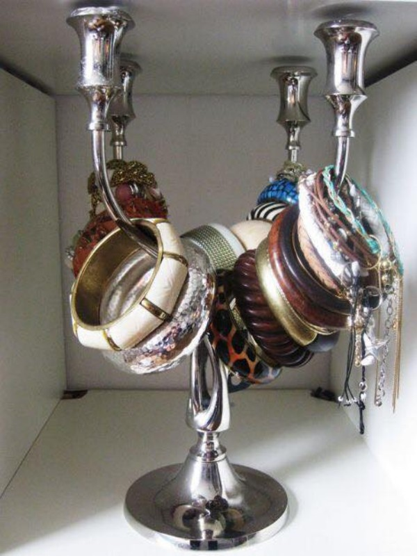 Up Cycled Jewelry Hanger Ideas