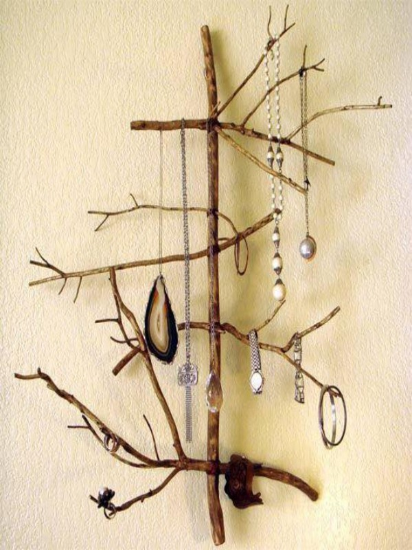 Up Cycled Jewelry Hanger