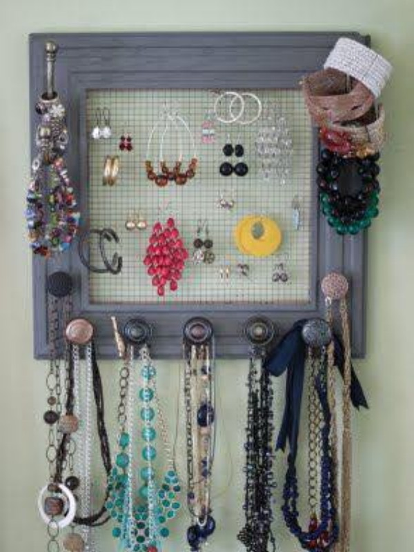 Up Cycled Jewelry Hangers