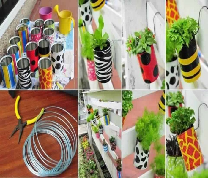 Upcycle Cans to Give them Second Life