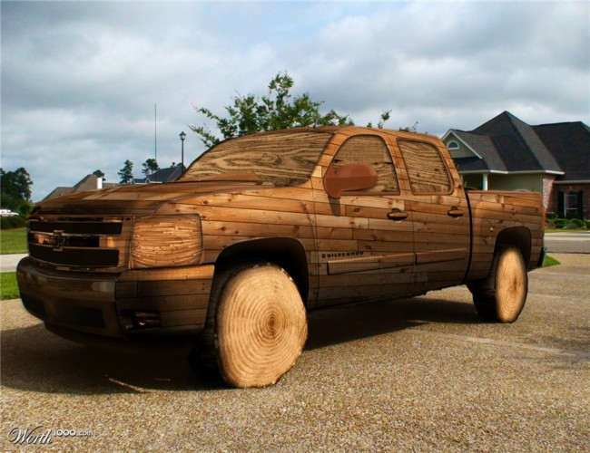 Diy Car Art : Wooden upcycled cars upcycle art