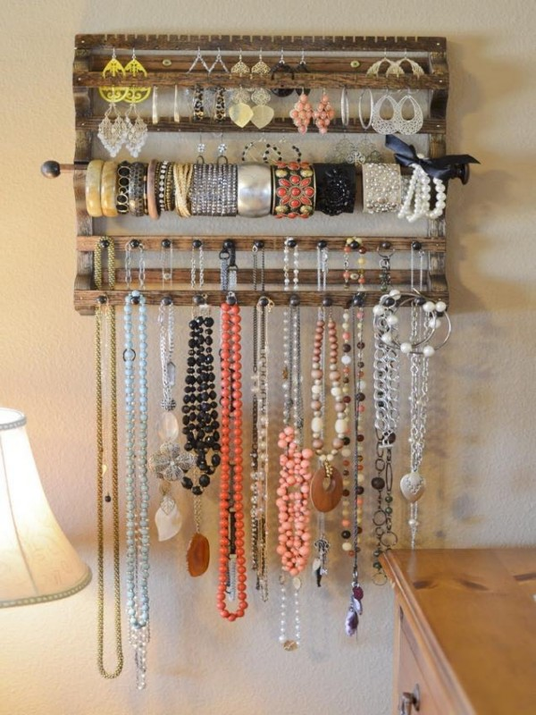 Wood Up Cycled Jewelry Hangers