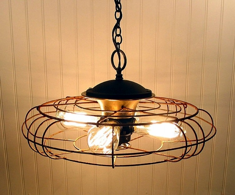 industrial chandelier ideas
