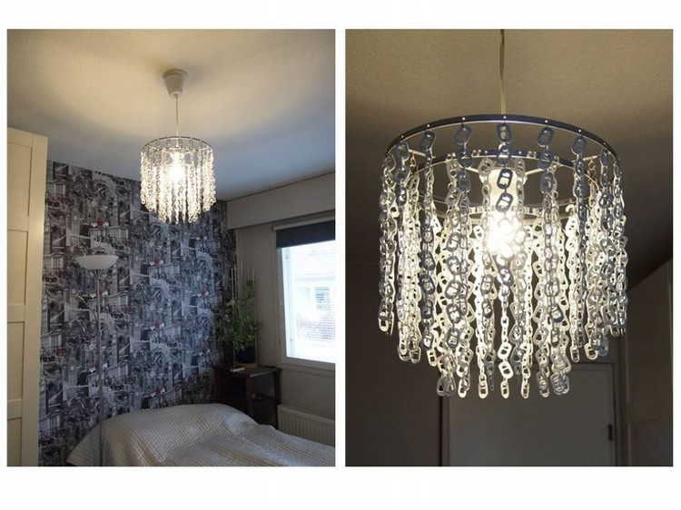 lamp from can tabs