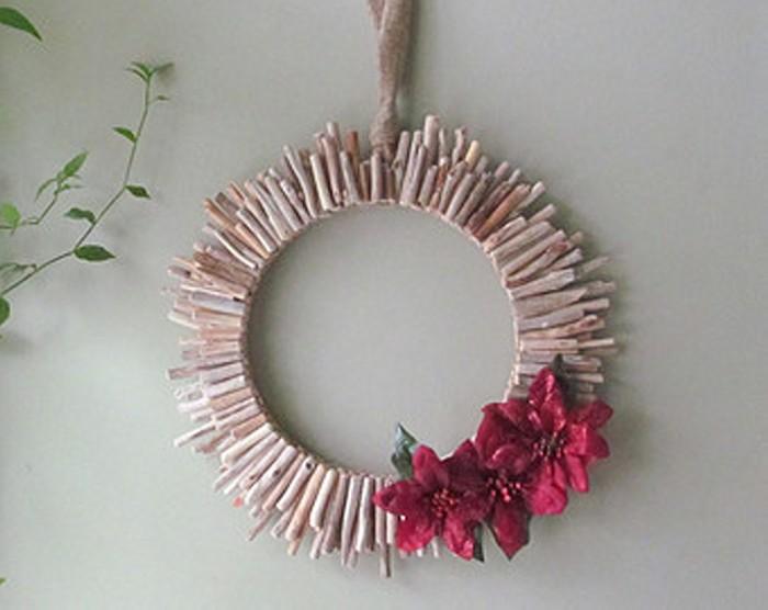 Bleached Driftwood Wreath