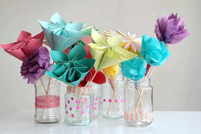 Bouquet of Beautiful Paper Flowers