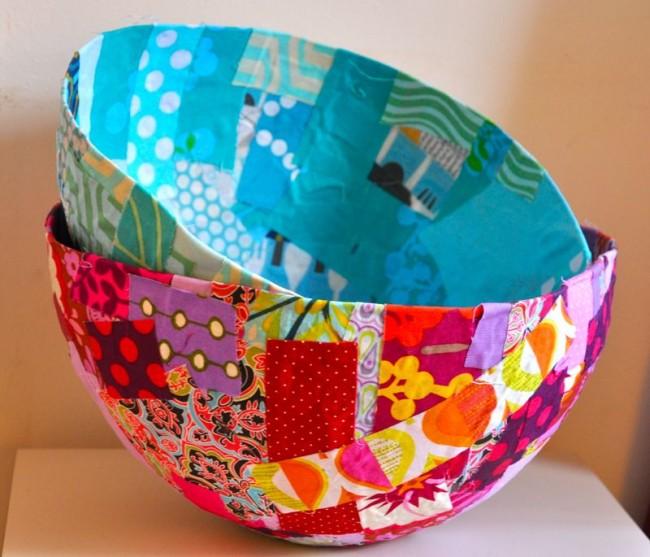 Bowls in Papier Mache