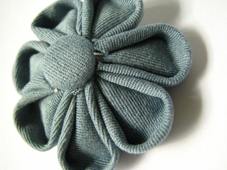 Denim Fabric Flower