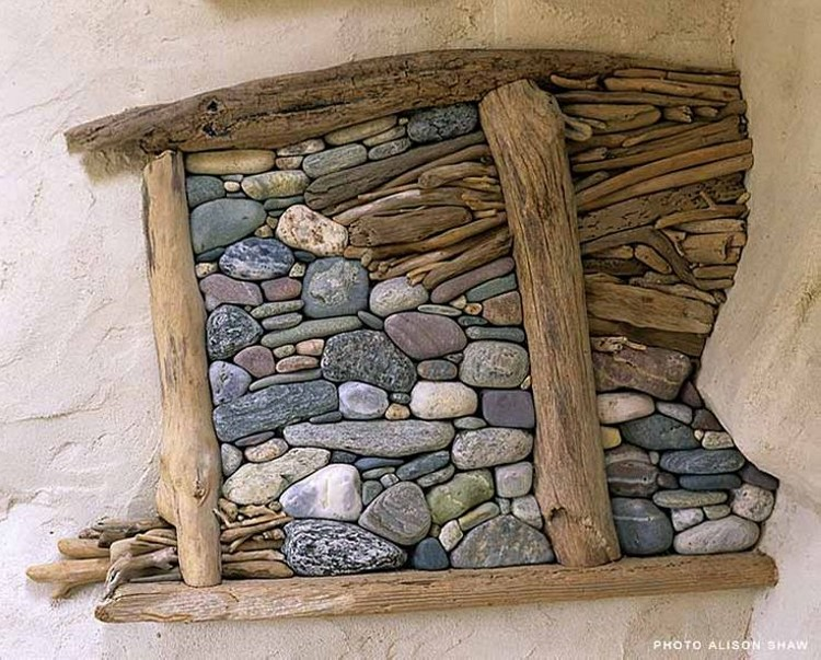 Drift wood wall crafts