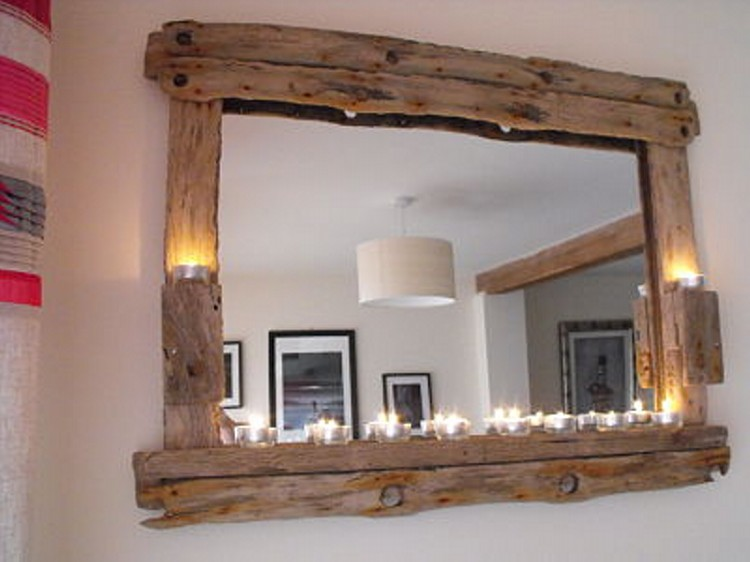 Driftwood Mirror Crafts