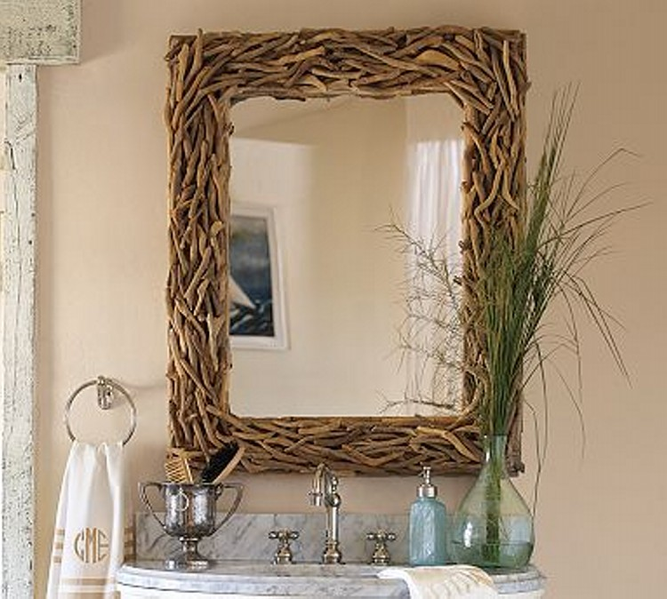 Driftwood Mirror Ideas