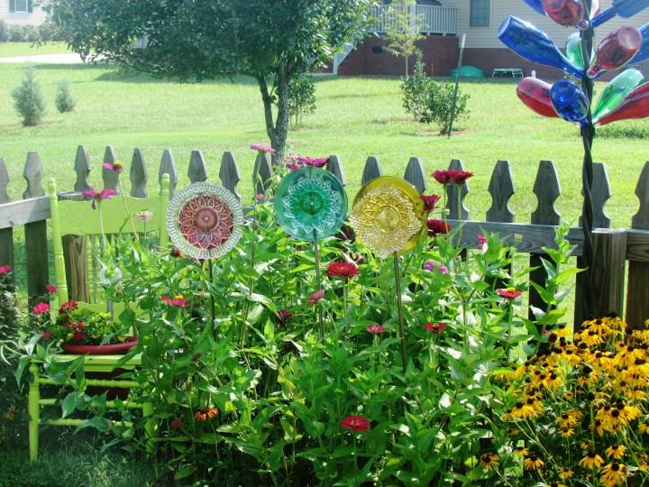 Garden Glass Decor