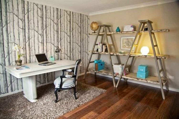 Ladder shelves ideas