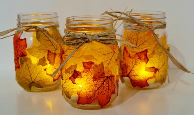 Mason Jars Candle DIY