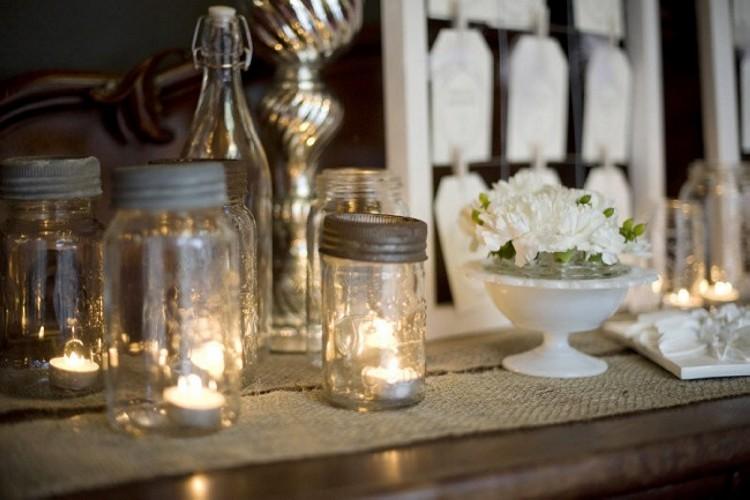 Mason Jars Candle Designs