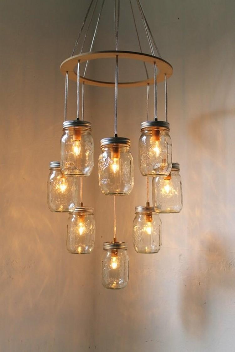 Mason Jars Candle Lanterns