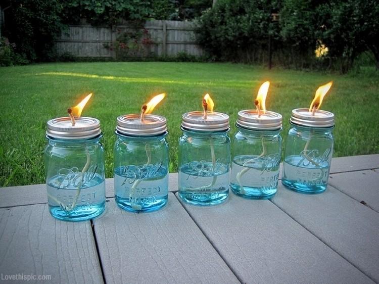 Mason Jars Candle