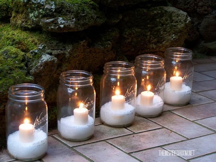 Mason Jars Candles