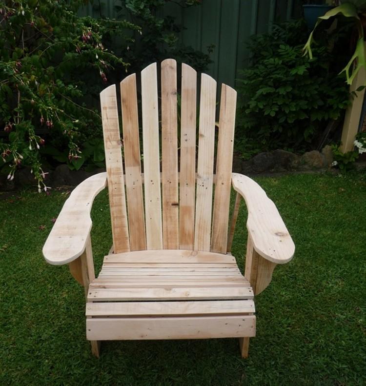Pallet Chair Design